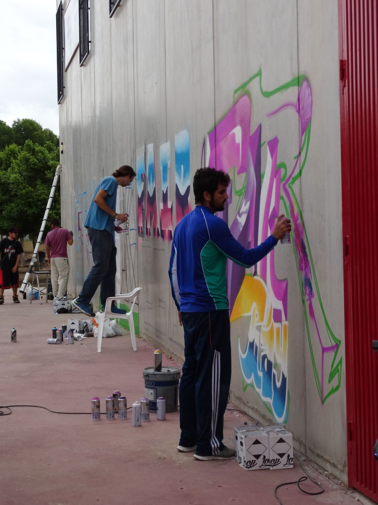 l se queda ahora con estas obras de arte urbano en sus paredes segur que habr ms lugares en los que pintar en aos sucesivos los artistas se llevaron
