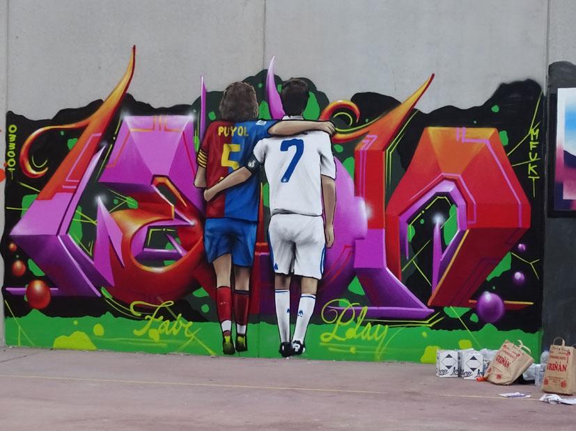 graffitis premio parejas graffitis premio